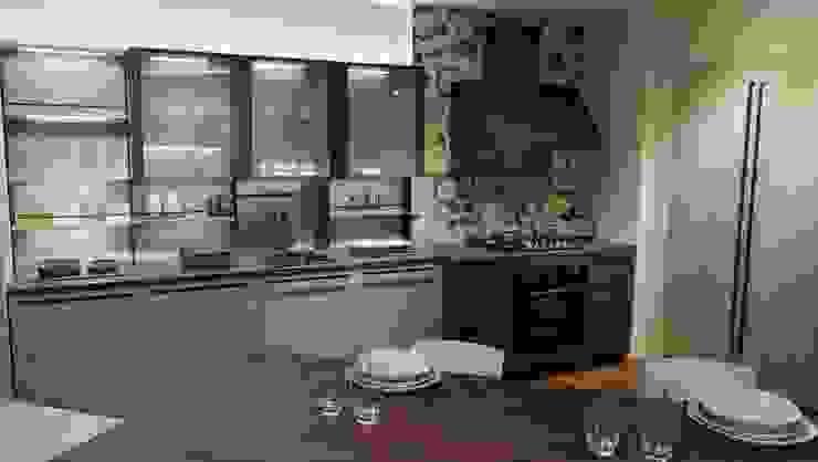 Cucina stile industrial: Cucina attrezzata in stile  di Formarredo Due design 1967,