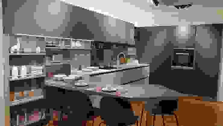 Встроенные кухни в . Автор – Formarredo Due design 1967, Модерн