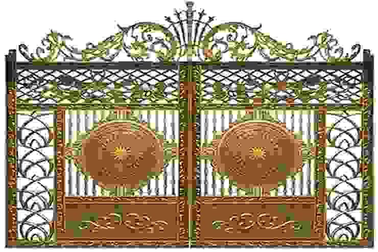 Cách nhận biết cổng nhôm đúc kém chất lượng: scandinavian  by CÔNG TY CỔ PHẦN SẢN XUẤT HOÀNG GIA HÀ NỘI, Bắc Âu Đồ gốm