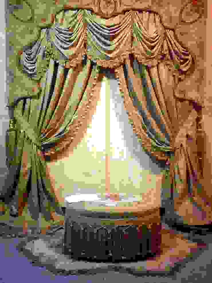 ستارة من الاوبيسون السجاد: كلاسيكي  تنفيذ روزادا مصرية, كلاسيكي أنسجة طبيعية Beige