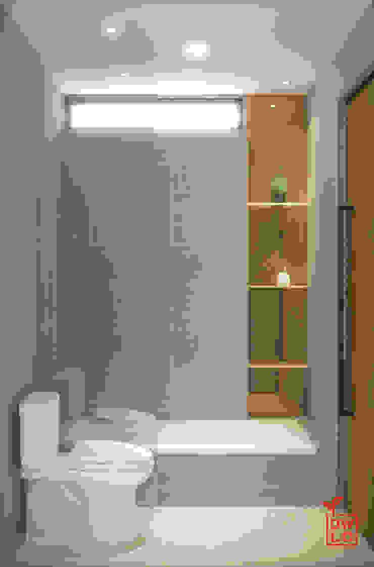 D&A House Cimanggis Kamar Mandi Gaya Industrial Oleh Dwello Design Industrial Keramik