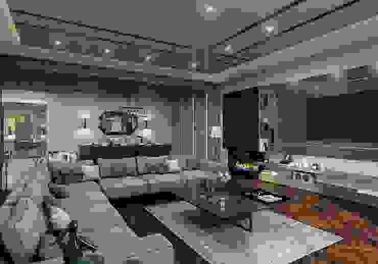 ANTE MİMARLIK  – Oturma odası: modern tarz , Modern