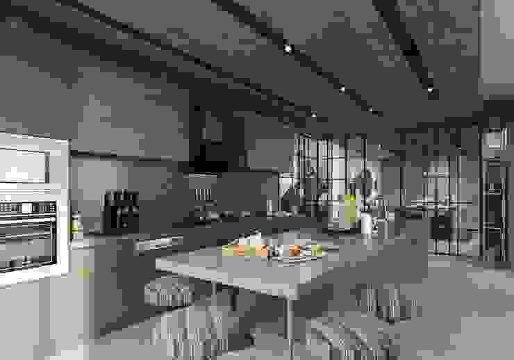 Mutfak üniteleri ANTE MİMARLIK Modern