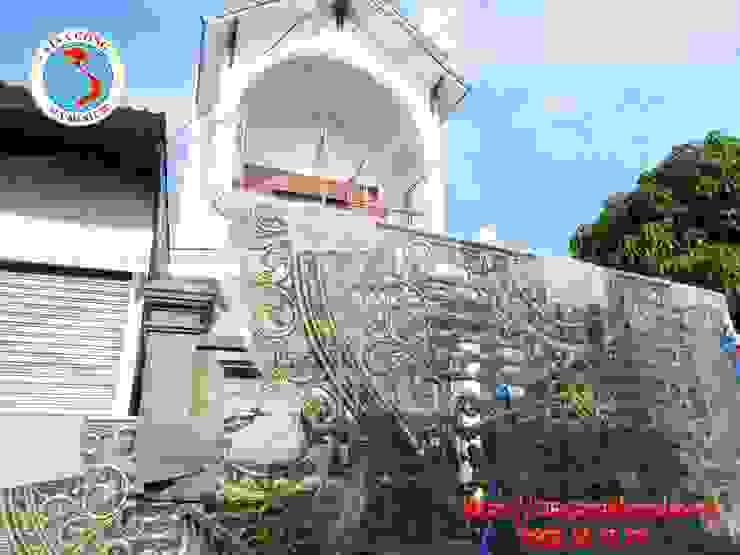 cổng nhôm đúc: Châu Á  by Công Ty TNHH Đúc Hợp Kim Nhôm Vi Na Cổng, Châu Á Đá hoa
