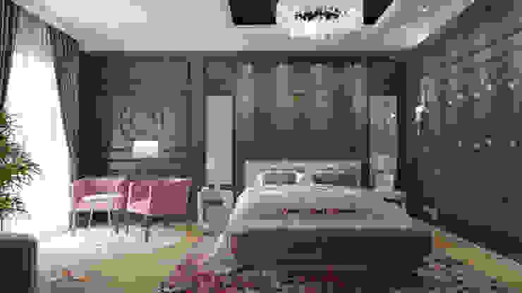 Klasik Yatak Odası AmiraNayelDesigns Klasik