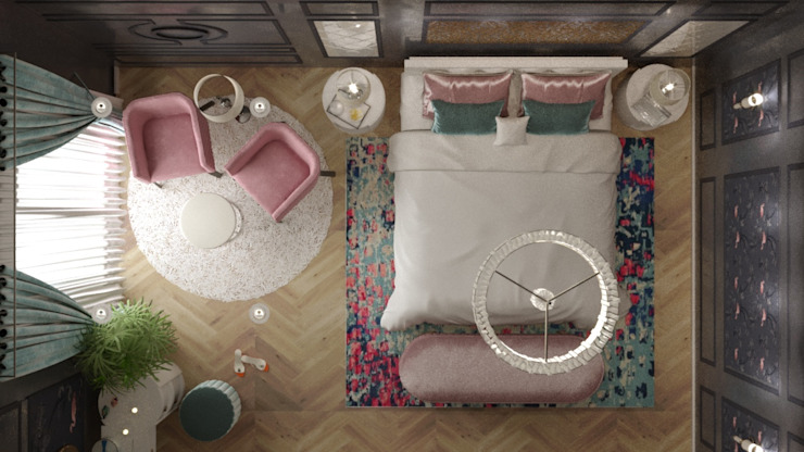 Classic style bedroom by AmiraNayelDesigns Classic