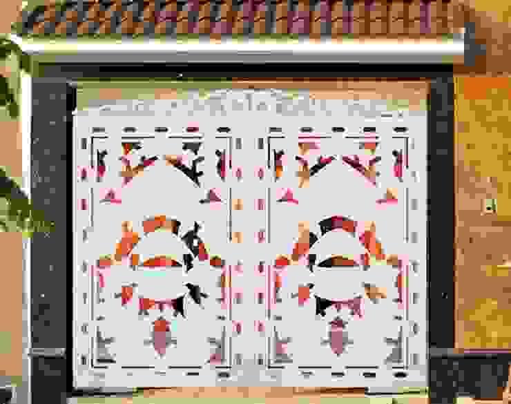 Giới thiệu quy trình thiết kế cổng nhôm đúc: scandinavian  by CÔNG TY CỔ PHẦN SẢN XUẤT HOÀNG GIA HÀ NỘI, Bắc Âu Bê tông cốt thép