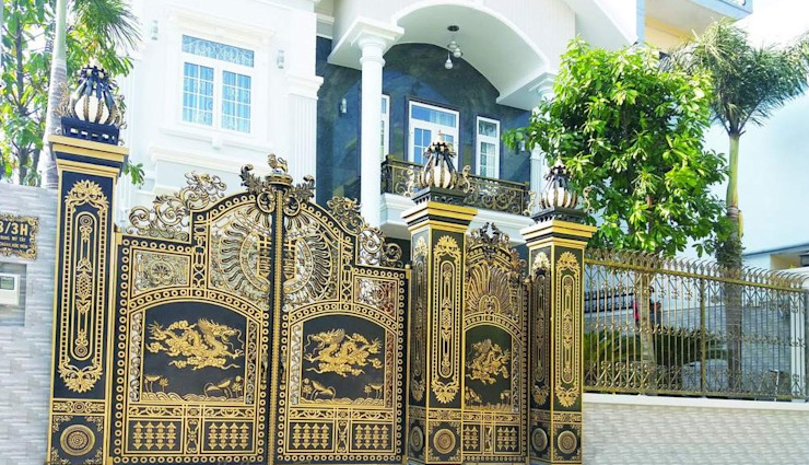Ý nghĩa hình ảnh rồng trên những cánh cổng nhôm đúc bởi CÔNG TY CỔ PHẦN SẢN XUẤT HOÀNG GIA HÀ NỘI