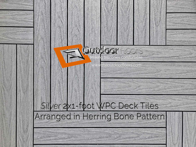 """<q class=""""-first"""">Silver</q> Grey 2x1' Balcony Flooring Tiles in Mississauga by Outdoor Floors Toronto Eclectic"""