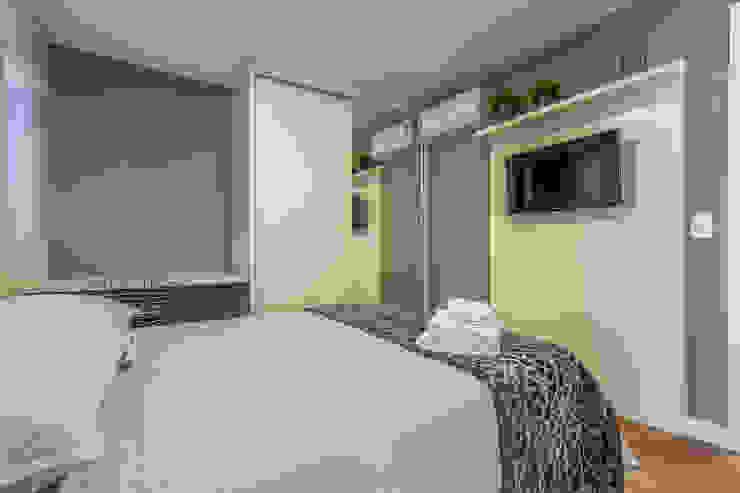 Apartamento por Samantha Sato Designer de Interiores Minimalista MDF