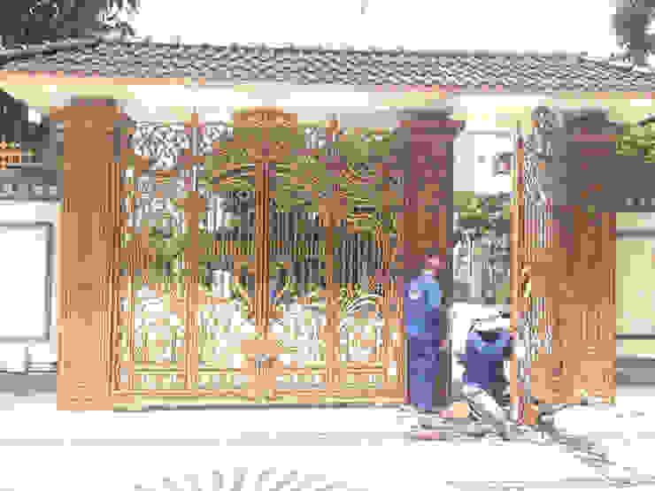 Thiết kế cổng nhôm đúc theo yêu cầu bởi CÔNG TY CỔ PHẦN SẢN XUẤT HOÀNG GIA HÀ NỘI Châu Á Đồng / Đồng / Đồng thau