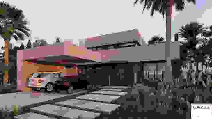 PROYECTO EN LA VIRAZON – NORDELTA de Rocha & Figueroa Bunge arquitectos Moderno Ladrillos