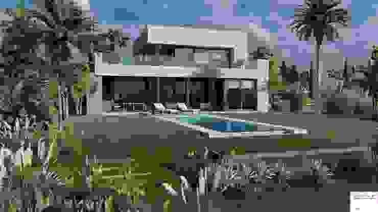 PROYECTO EN LA VIRAZON – NORDELTA de Rocha & Figueroa Bunge arquitectos Minimalista Ladrillos