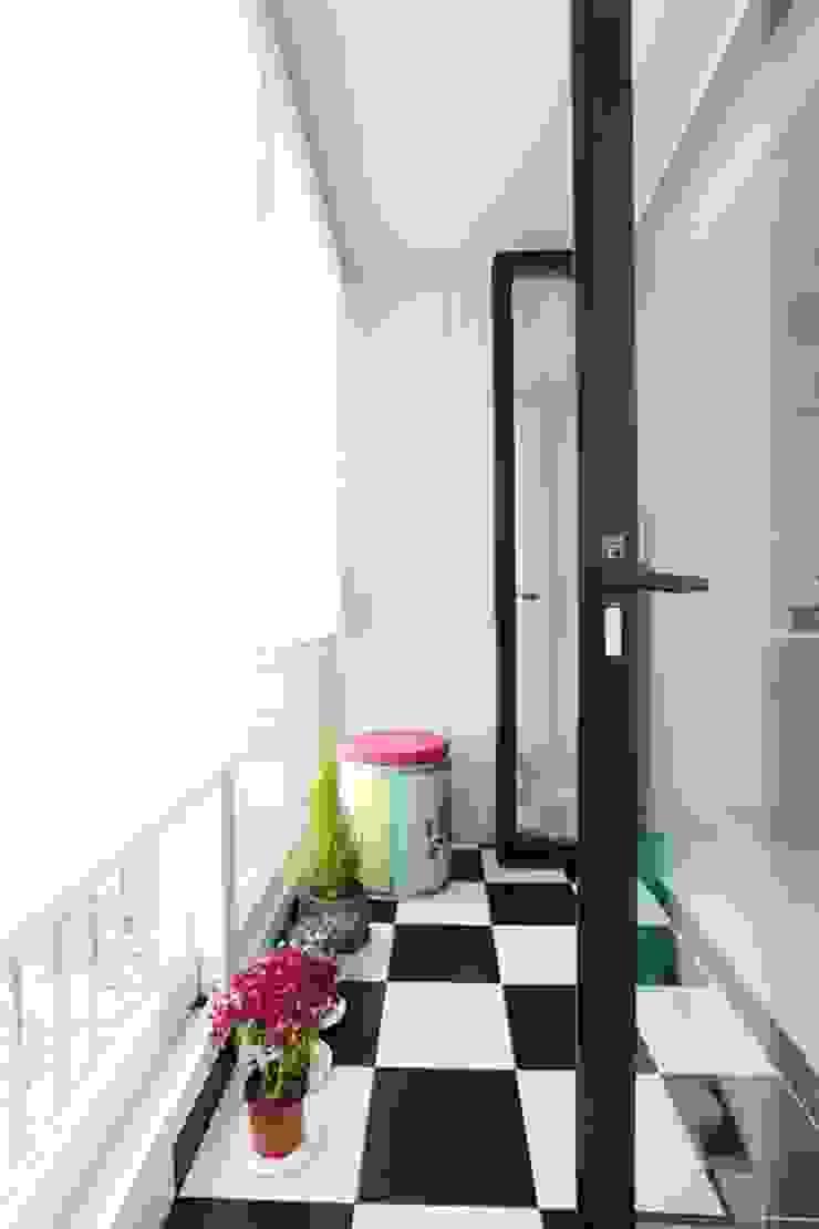 공간구성 알차게 꾸민 작은집인테리어_월계동 삼호아파트 by 더집디자인 (THEJIB DESIGN) 모던