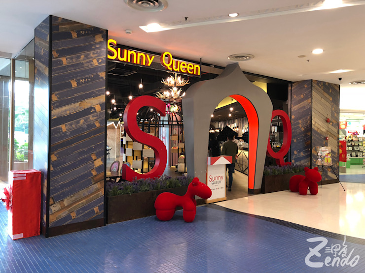 馬來西亞 - SUNNY QUEEN Zendo 深度空間設計 餐廳