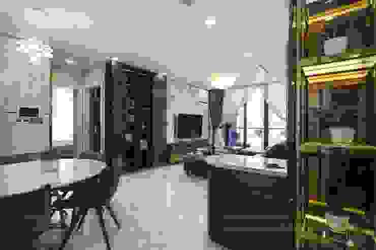 THỰC TẾ CĂN HỘ VINHOMES GOLDEN RIVER - 3-Bedroom Apartment bởi ICON INTERIOR Hiện đại
