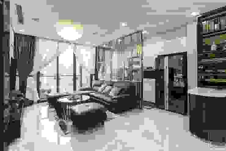 THỰC TẾ CĂN HỘ VINHOMES GOLDEN RIVER – 3-Bedroom Apartment bởi ICON INTERIOR Hiện đại