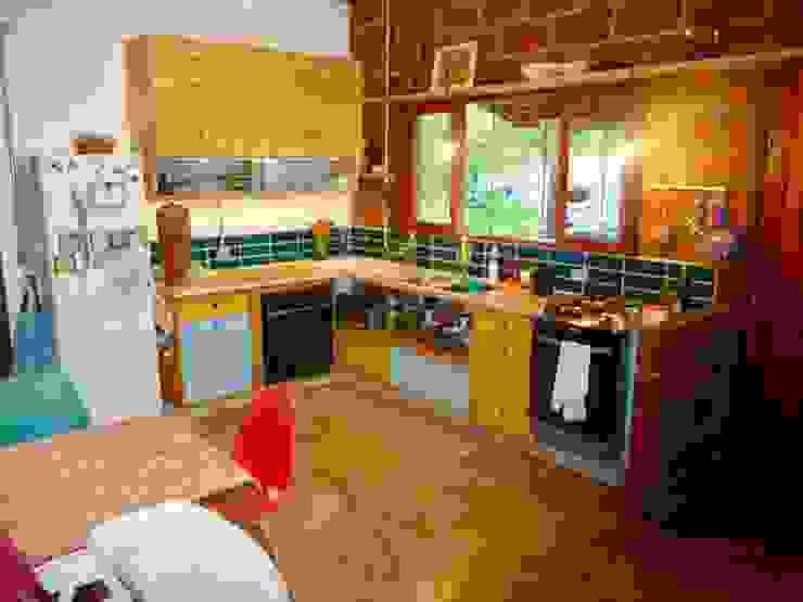 Cuisine rustique par Arquitetura FPA Rustique
