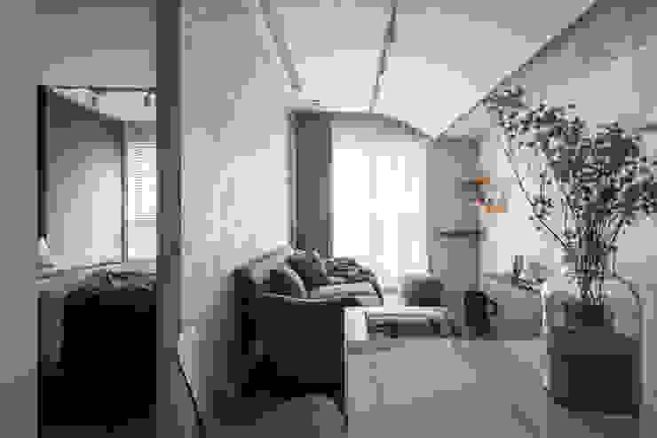 living area 湜湜空間設計 客廳 Grey