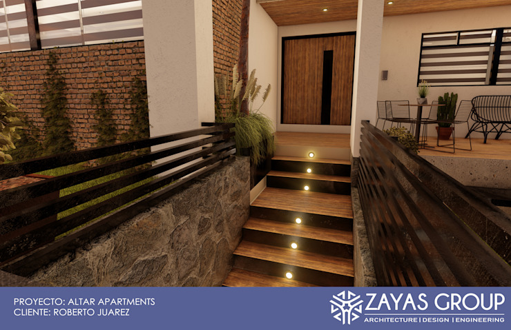 Condominios de estilo  por Zayas Group