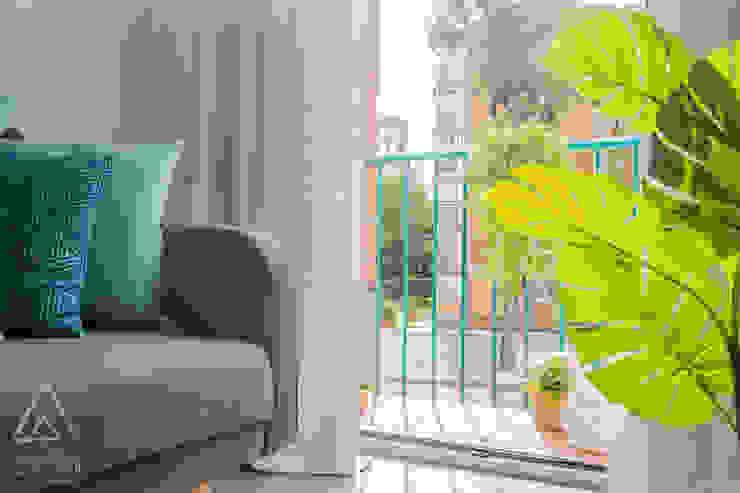 Home Staging apartamento alquiler turístico, Madrid. Byta Espacios Suelos