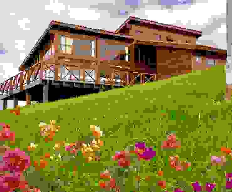Klassische Badezimmer von Casas y cabañas de Madera -GRUPO CONSTRUCTOR RIO DORADO (MRD-TADPYC) Klassisch