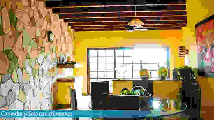 VillaSi Construcciones ห้องทานข้าว