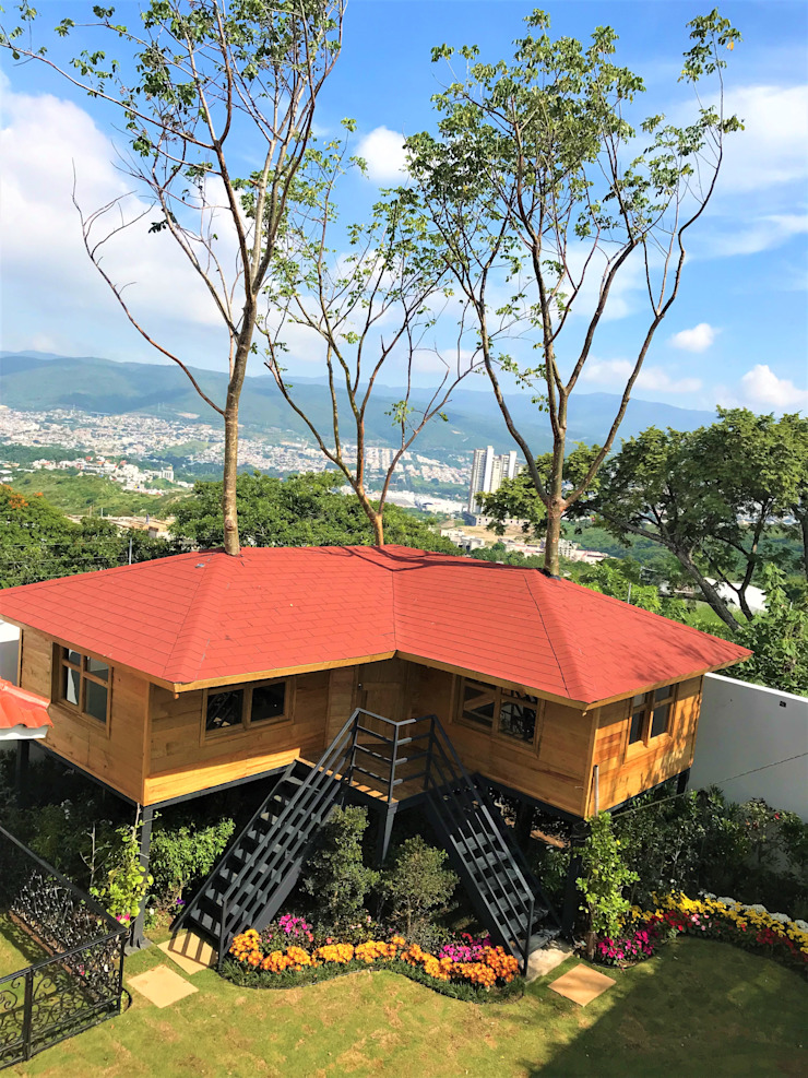 Casas y cabañas de Madera -GRUPO CONSTRUCTOR RIO DORADO (MRD-TADPYC) Case classiche