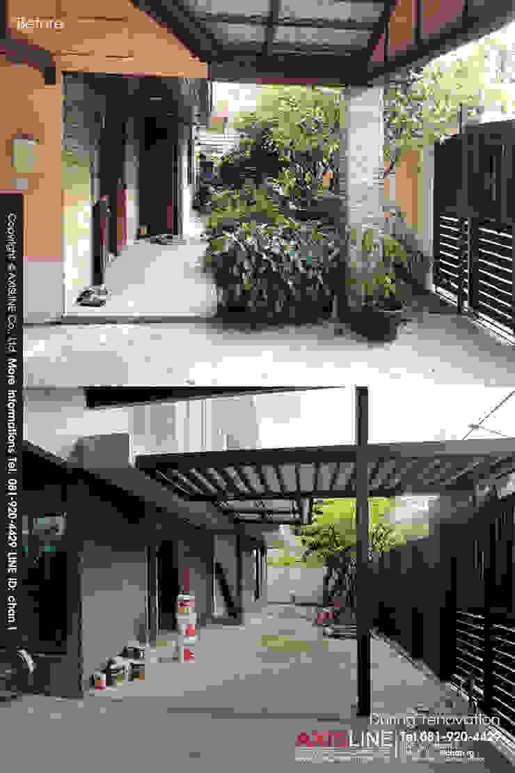 รีโนเวทบ้าน และ ออกแบบตกแต่งภายใน บ้านคุณเชาวลิต โดย บริษัทแอคซิสลาย จำกัด