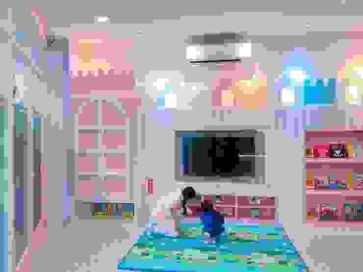 小朋友交誼廳 根據 藏私系統傢俱 北歐風