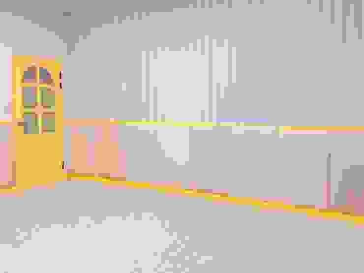 教室防撞繃布 根據 藏私系統傢俱 北歐風