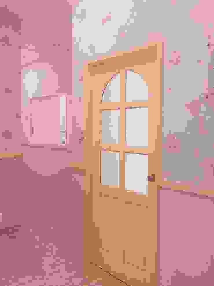 小城堡的廊道空間 根據 藏私系統傢俱 北歐風