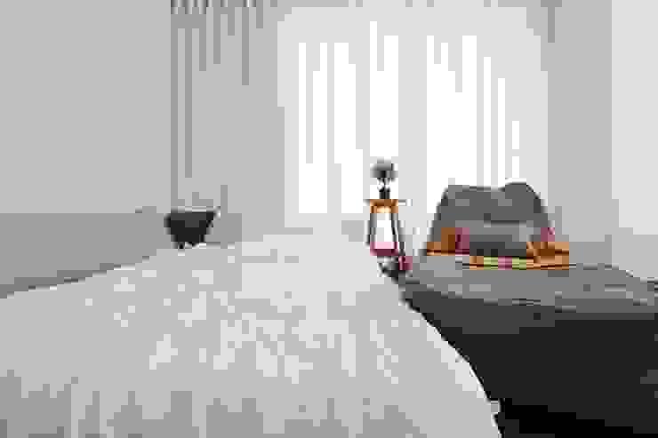 단순한 것이 아름답다_판교힐스테이트인테리어 모던스타일 침실 by 더집디자인 (THEJIB DESIGN) 모던