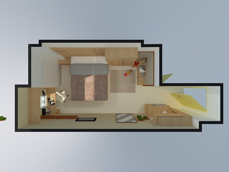 Denah layout 3D:   by Internodec