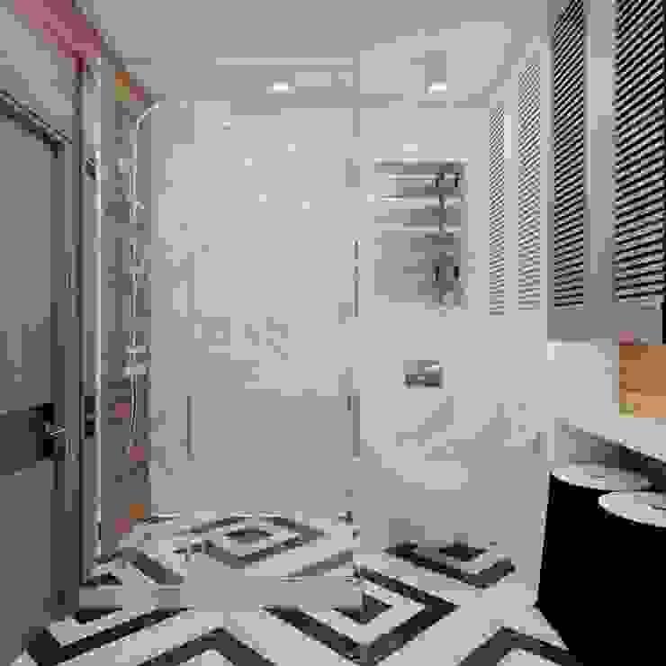 Industrial style bathroom by EM design Industrial Concrete