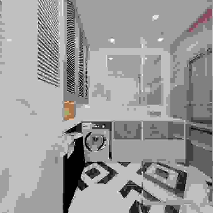 Industrial style bathroom by EM design Industrial Wood Wood effect
