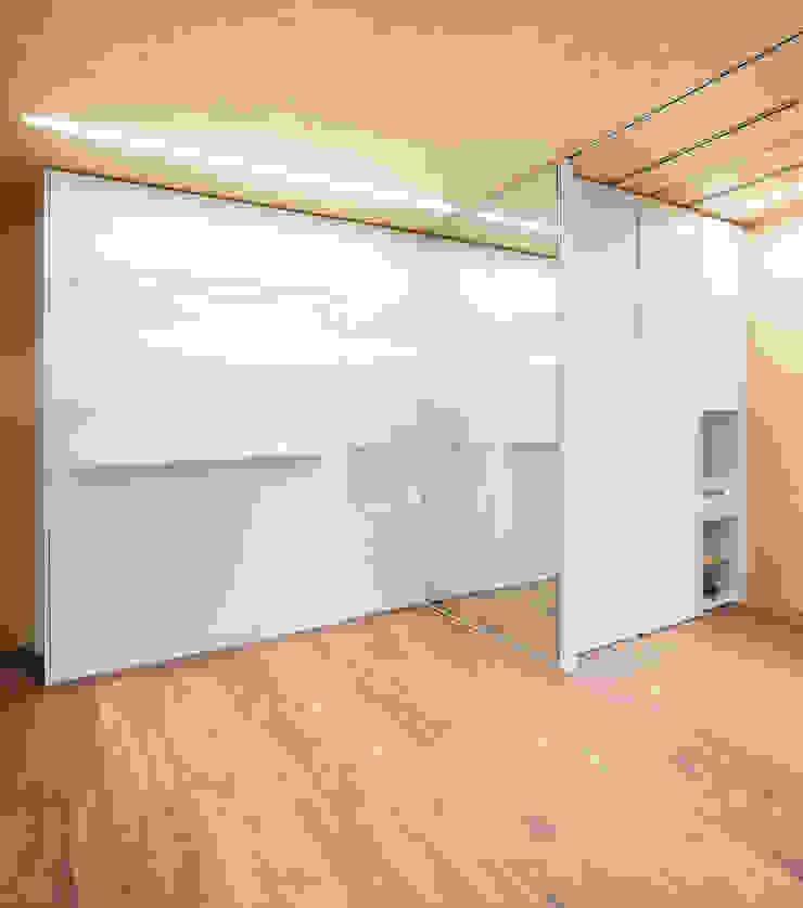 Eseiesa Arquitectos ห้องนอน White