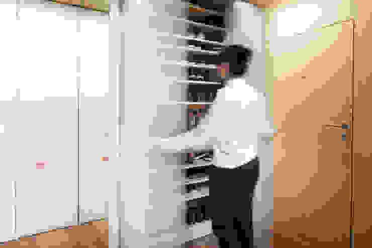 Eseiesa Arquitectos Minimalist dressing room
