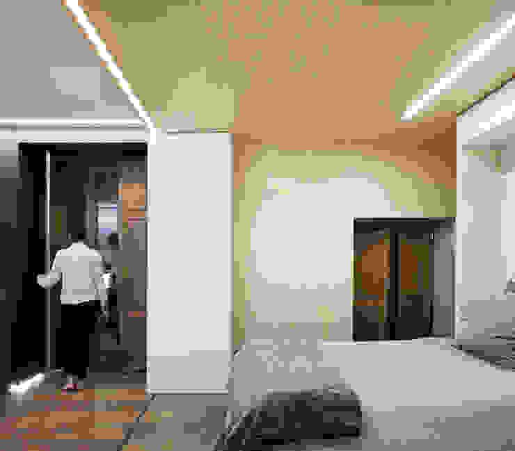 Eseiesa Arquitectos ห้องนอน