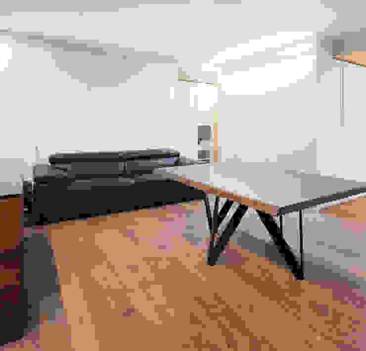 Eseiesa Arquitectos ห้องนั่งเล่น