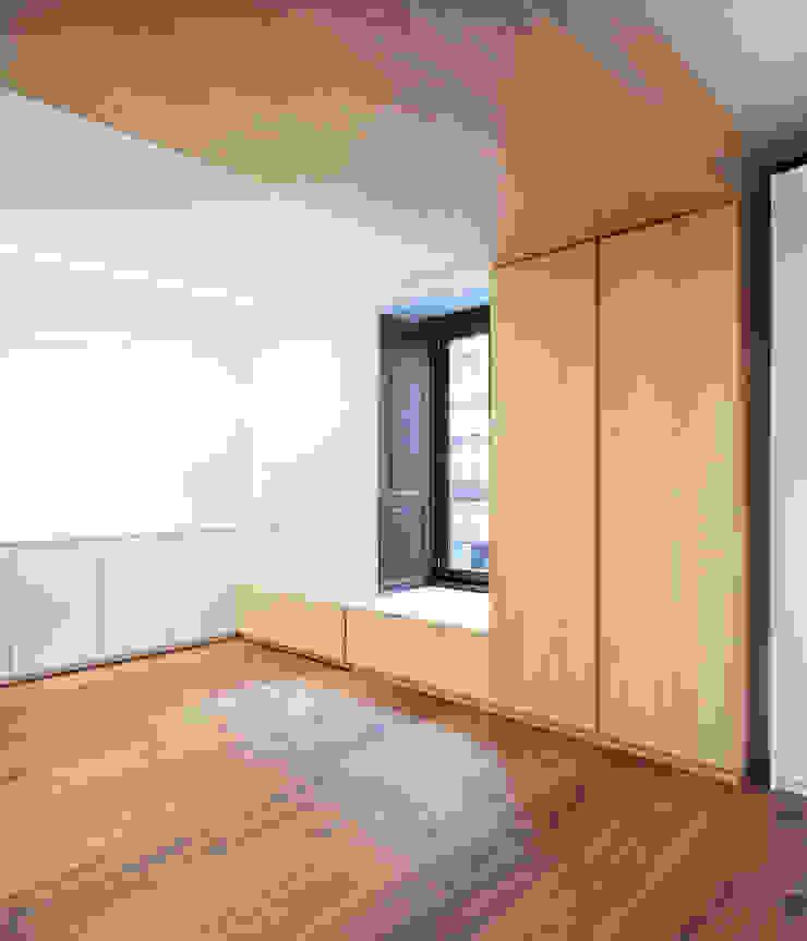 Eseiesa Arquitectos Minimalist walls & floors