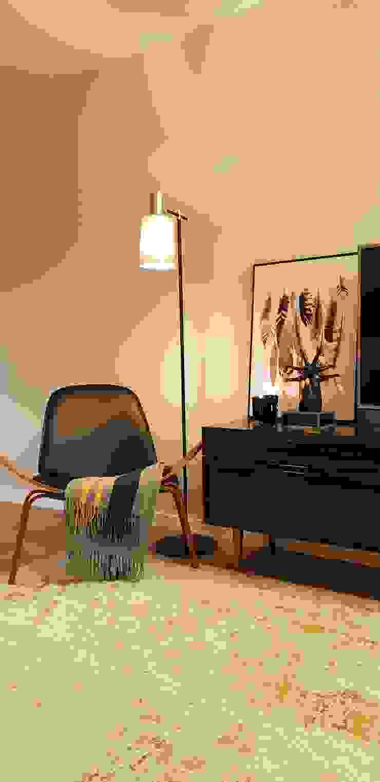 de Alma Braguesa Furniture Clásico Textil Ámbar/Dorado