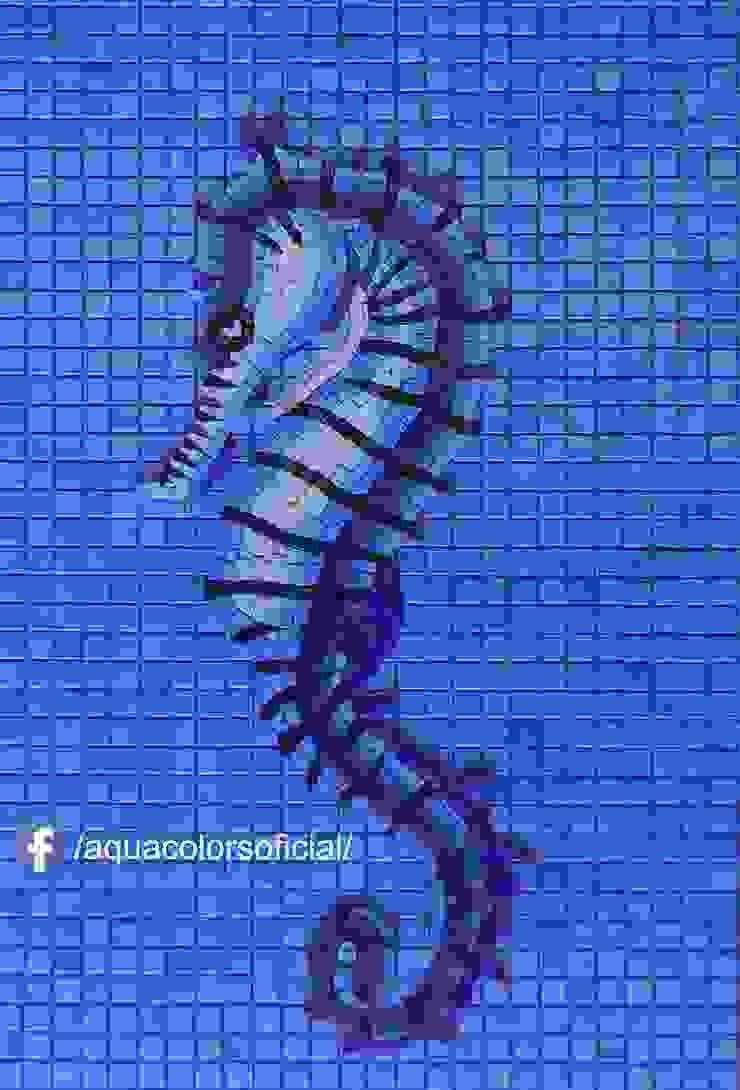 F-05-70A Caballito Mar de Mosaico Veneciano Aquacolors / Moretti A&D Piscinas