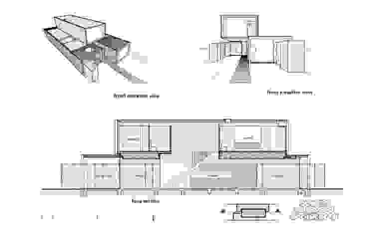 레디 메이드 하우스: 스마트주방의 현대 ,모던