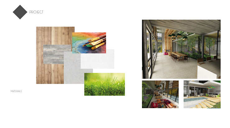 Minimalistische Häuser von Claudia Jasso Minimalistisch