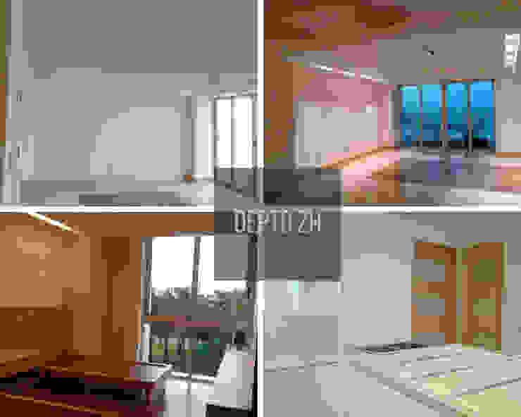Remodelación de interiores en depto ZH de SG Huerta Arquitecto Cancun Moderno