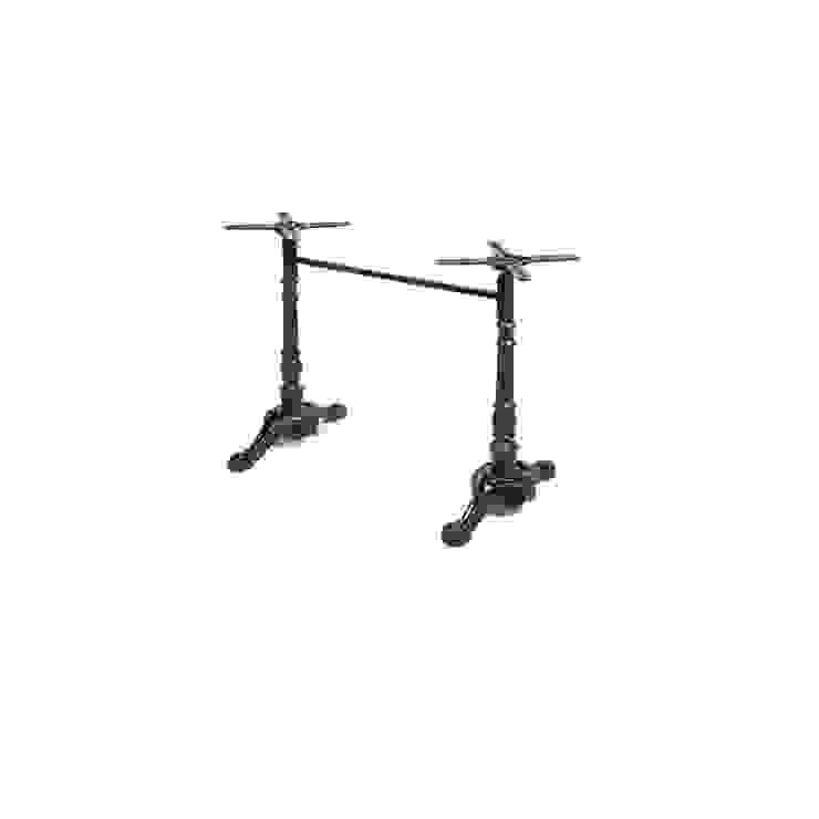 İkili Döküm Masa Ayakları Cafe Sandalyeleri Klasik Demir/Çelik