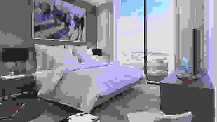 VillaSi Construcciones Camera da letto moderna