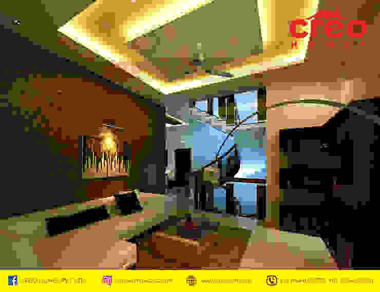 Interior Designers In Kochi Modern Bedroom by Creo Homes Pvt Ltd Modern