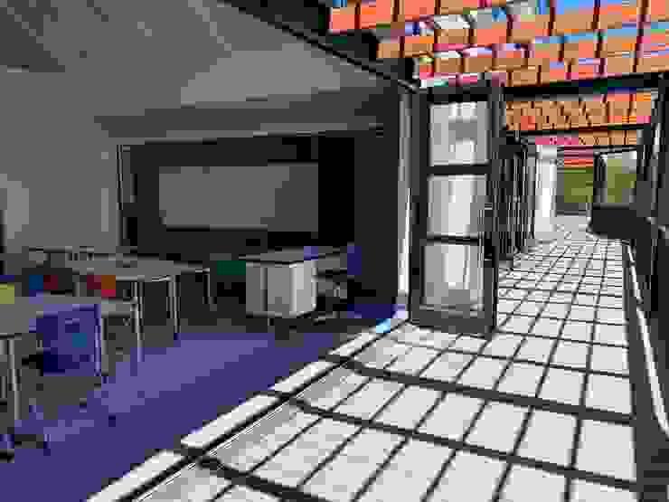 Inovar Schools Wood-Plastic Composite Grey